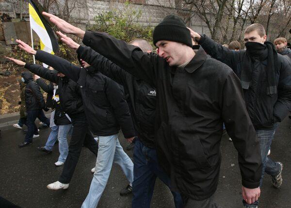 Русский марш праворадикальных движений