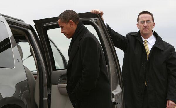 Кандидат в президенты США Барак Обама в Питсбурге
