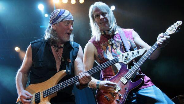 Концерт Deep Purple в Москве