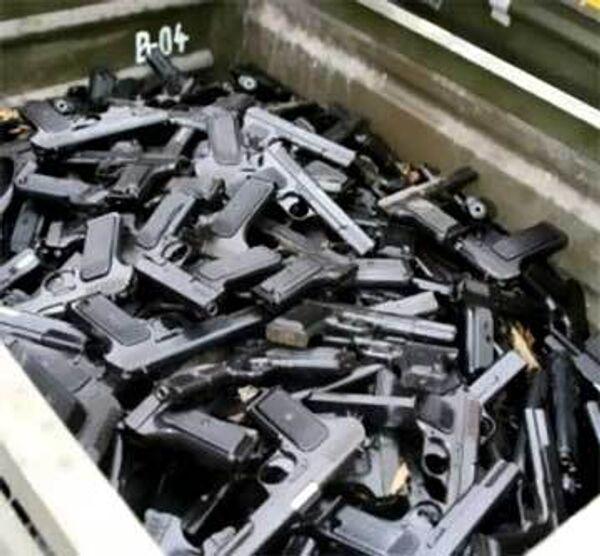 Семь тысяч 897 единиц огнестрельного оружия сдано в полицию Чехии в рамках так называемой оружейной амнистии