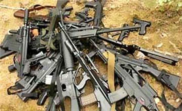 Оперативники нашли много оружия на месте боестолкновения в Дагестане