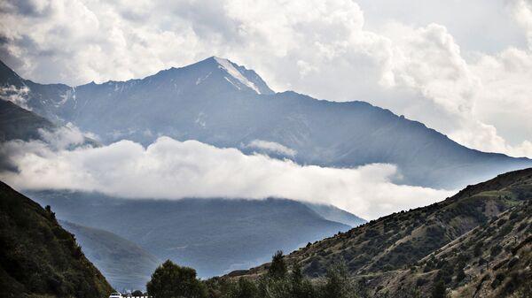 Горы в Северной Осетии. Архивное фото