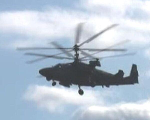 Ка-52 Аллигатор может в воздухе все