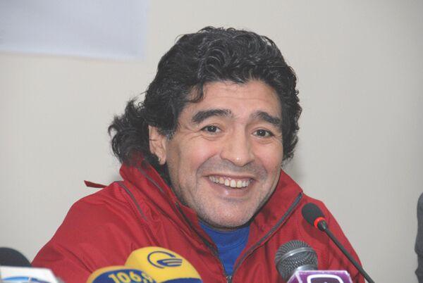 Диего Марадона. Архив