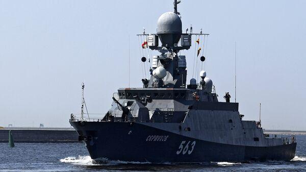 Малый ракетный корабль проекта 21631 Серпухов
