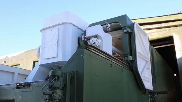 Развертывание и подготовка к применению боевого лазерного комплекса Пересвет