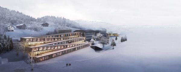 Проект отеля Audemars Piguet Hôtel des Horlogers в Швейцарии, победивший в категории Leisure Led Development Future Project на Всемирном фестивале архитектуры