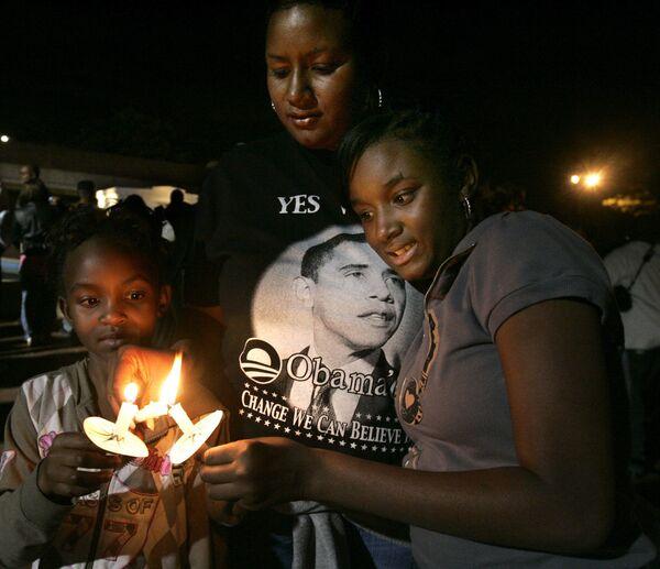Избиратели Барака Обамы в ожидании результатов голосования