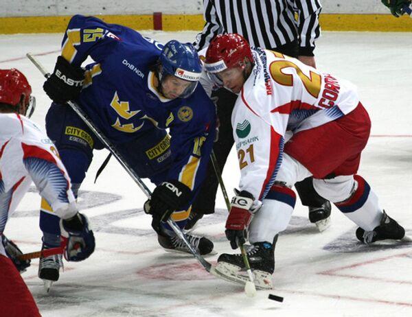 Хоккей. Сборная России - Сборная Швеции