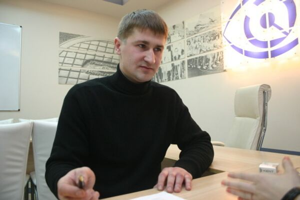 Александр Кузнецов, обвиняемый в убийстве предполагаемого насильника своего сына