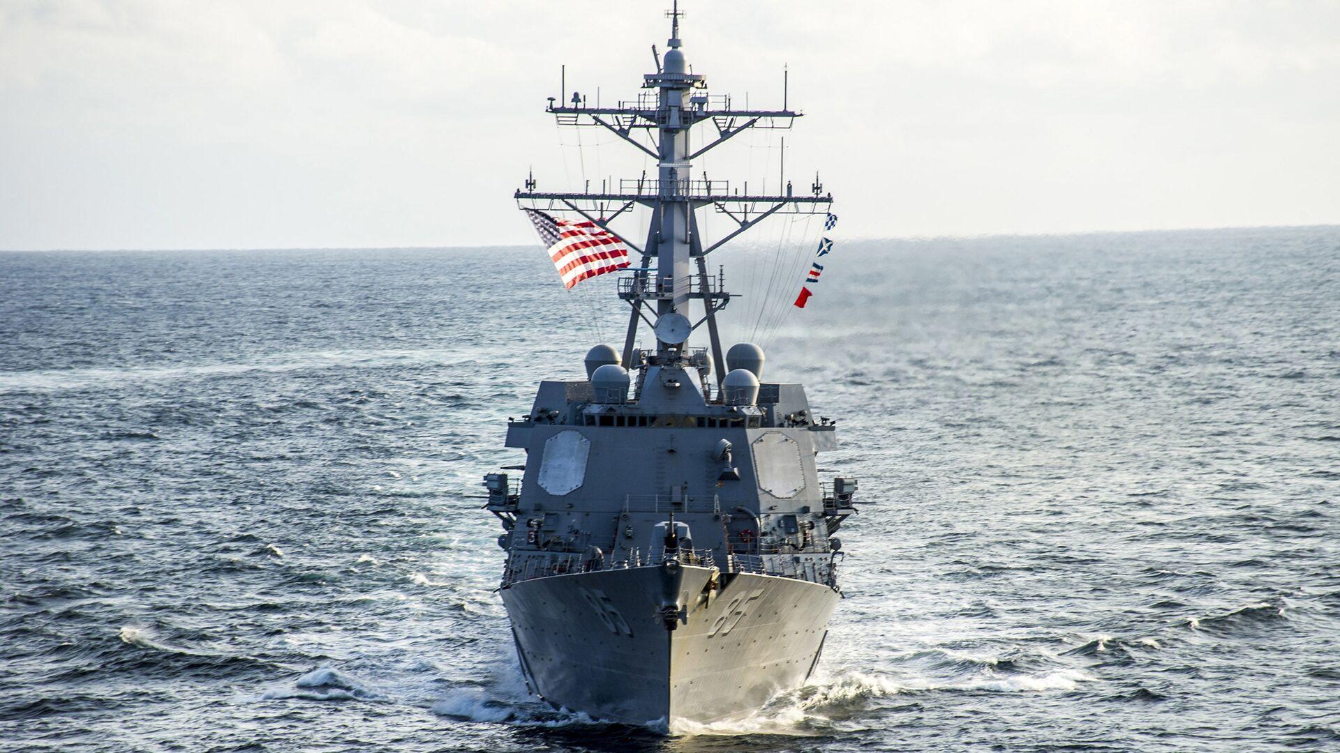 Американский эсминец USS McCampbell  - РИА Новости, 1920, 04.02.2021
