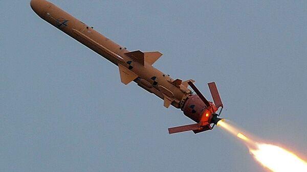 Испытание ракетного комплекса в Одесской области