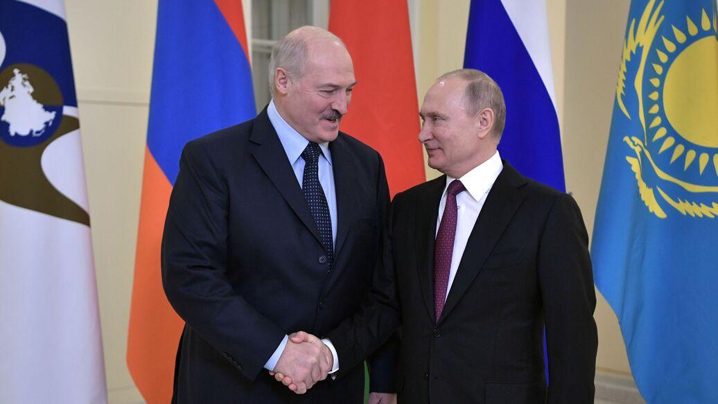 Лукашенко извинился перед Путиным за спор о ценах на газ