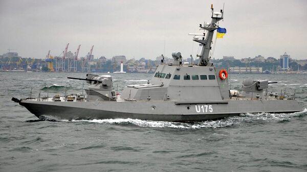 Корабль ВМФ Украины Бердянск в порту Одессы