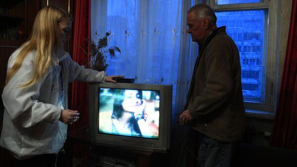 Настройка цифрового ТВ в квартире Анатолия Крапивина