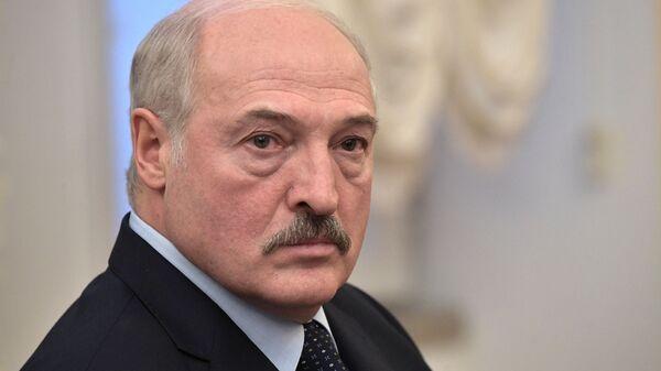 Президент Белоруссии Александр Лукашенко на заседании Высшего Евразийского экономического совета в узком составе. 6 декабря 2018