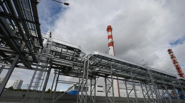 Здание новой парогазовой теплоэлектростанции