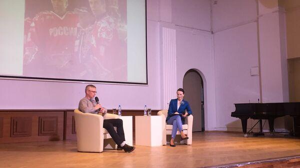 Игорь Ларионов на встрече со студентами РГСУ