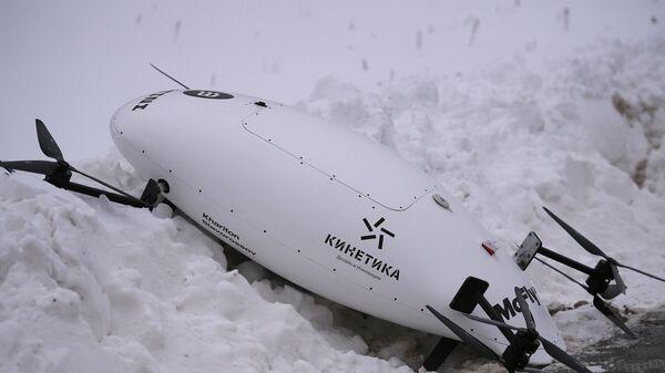 "Прототип аэротакси упал во время презентации в ""Сколково"""