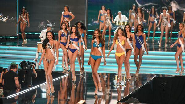 Участницы конкурса Мисс Вселенная