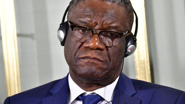 Лауреат Нобелевской премии мира конголезский врач Денис Муквеге
