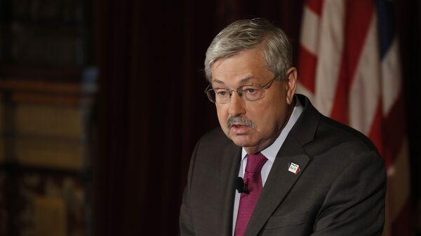 Посол США в Китае Терри Эдвард Брэнстед