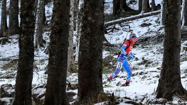 Российская биатлонистка Маргарита Васильева