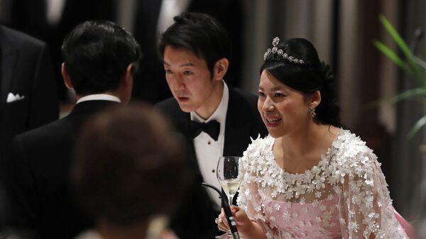 Бывшая японская принцесса Аяко и ее муж Кей Мория