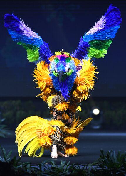 Показ национальных костюмов на конкурсе Мисс Вселенная 2018