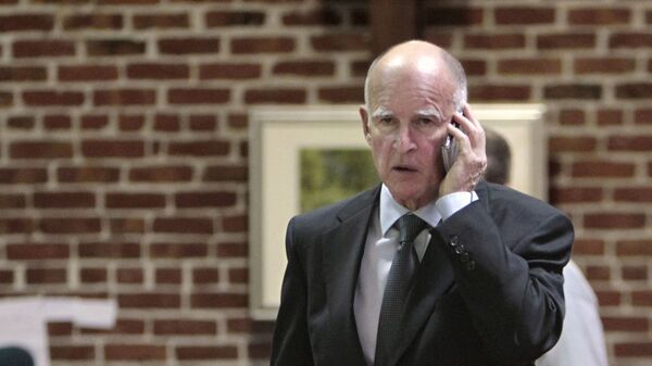 Губернатор штата Калифорния Джерри Браун