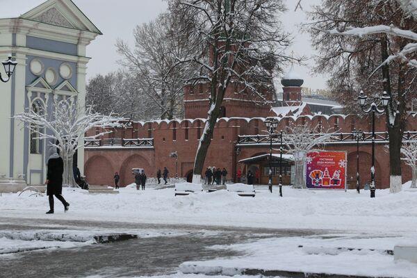 Территория Тульского кремля