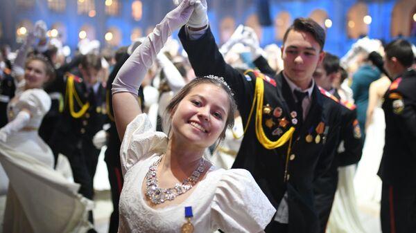 Участники III-го Международного Кремлевского кадетского бала