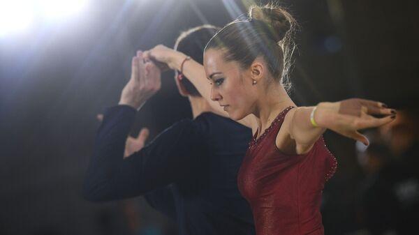 Участники Чемпионата России по хастлу в Москве