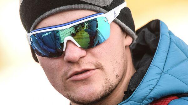 Тренер сборной России по биатлону Артем Истомин