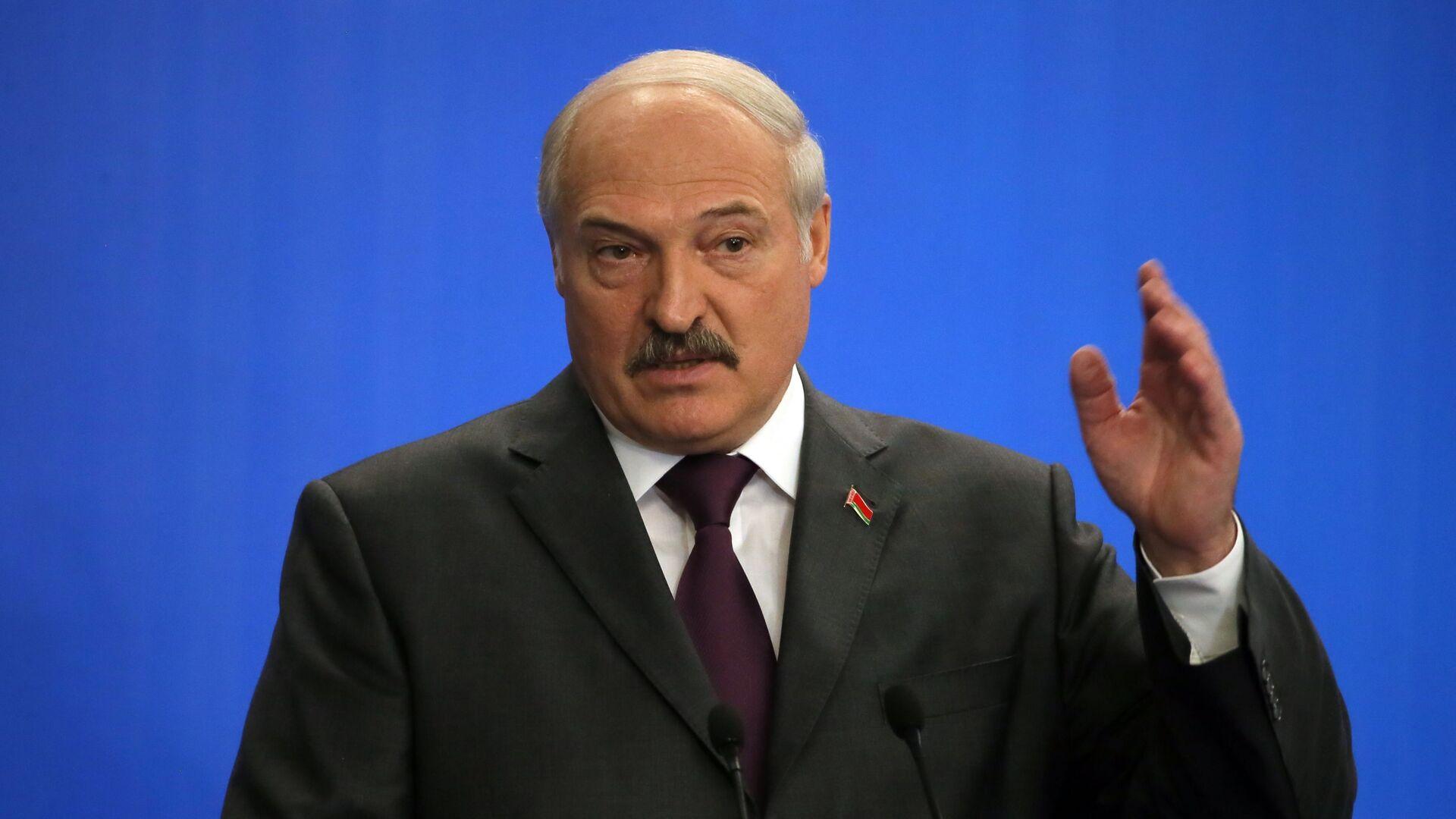 Президент Белоруссии Александр Лукашенко  - РИА Новости, 1920, 24.05.2021
