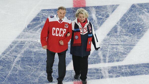 Владислав Третьяк и Татьяна Тарасова