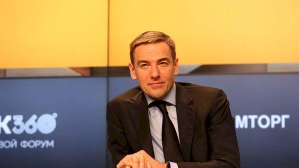 Заместитель министра промышленности и торговли Российской Федерации Виктор Евтухов на форуме ЛПК360°