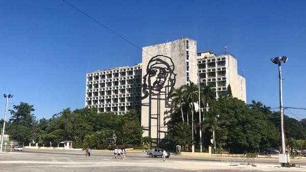Здание МИДа, Гавана, Куба