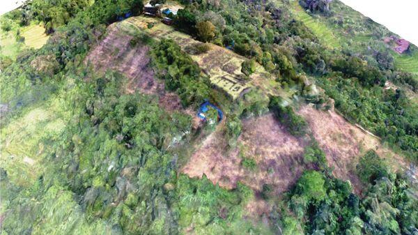 Пирамида, найденная в Индонезии