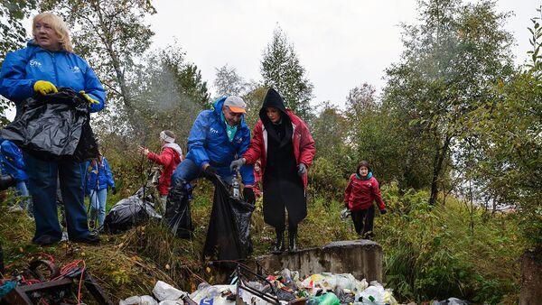 Омская экологическая гвардия стала Эковолонтером года