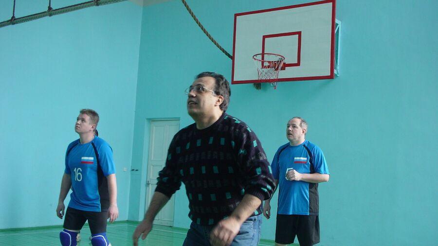 Андрей Карлов любил заниматься спортом