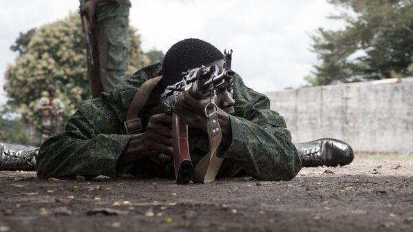 Новобранец Центральноафриканских вооруженных сил