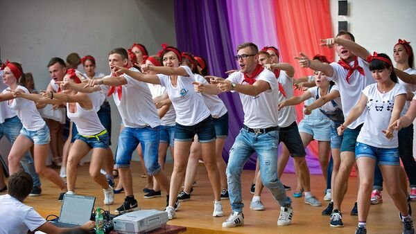 Финал Всероссийского конкурса Лига вожатых стартовал в Москве