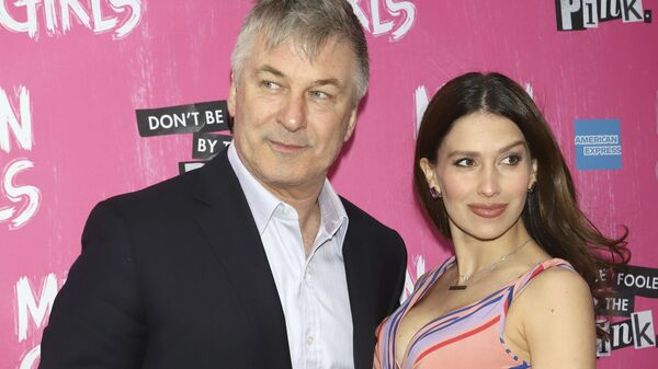 Актер Алек Болдуин и его супруга Хилария