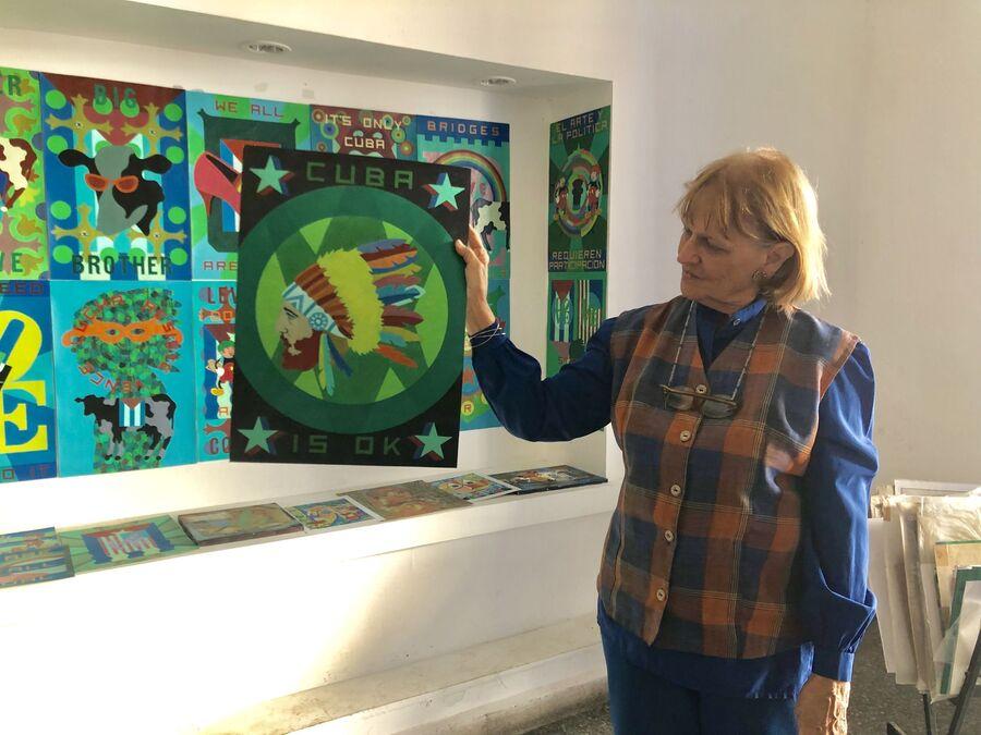 Куратор галереи современного искусства, Матансас, Куба