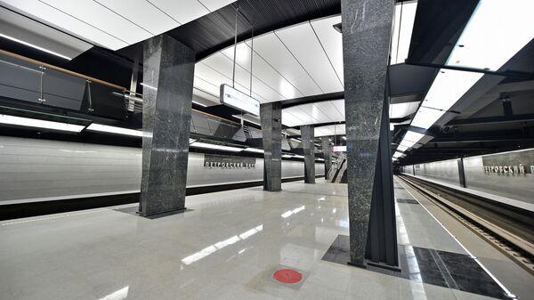Платформа станции Петровский парк