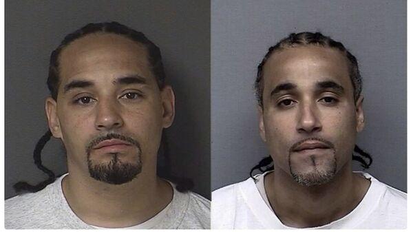 Задержанный Рики (слева) и отбывший в заключении 17 лет Ричард Джонс