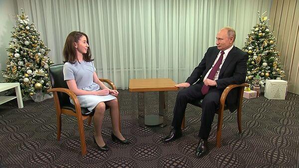 Мечты сбываются: как 17-летняя Регина Парпиева взяла интервью у Путина
