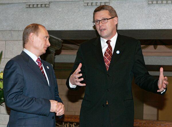 Лес, газ и культура будут обсуждаться на встрече премьеров РФ и Финляндии