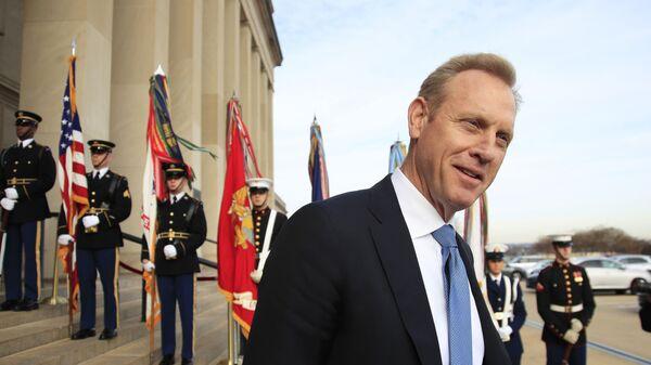Исполняющий обязанности министра обороны США Патрик Шанахан. Архивное фото